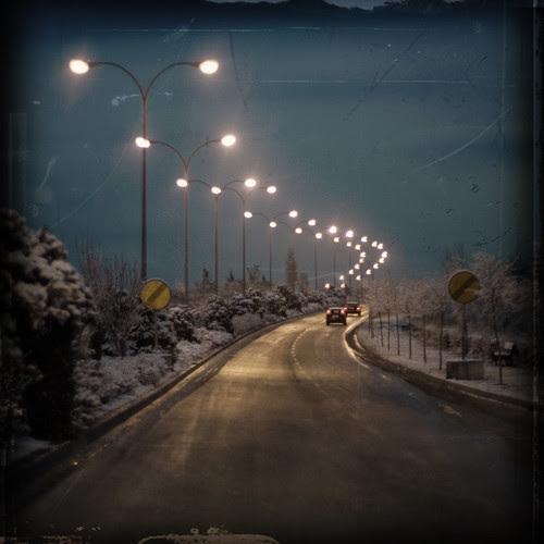 carretera helada por idlphoto