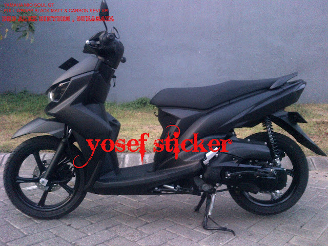 Matte Black Yamaha Mio Soul I