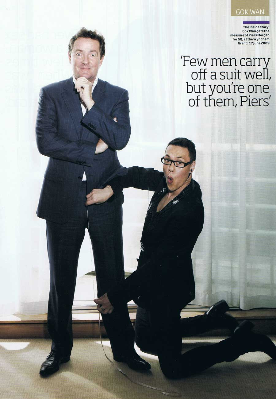 GQ interview: September 2009 Gokwan.com