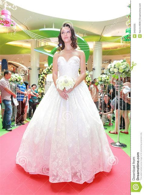 Wedding Dresses Fashion Show Editorial Image   Image: 34920205