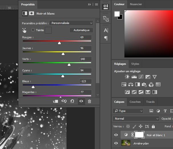 Photoshop Conversion Dimage En Noir Et Blanc
