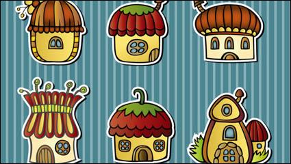 100 Gambar Rumah Kartun Jamur Gratis Terbaik