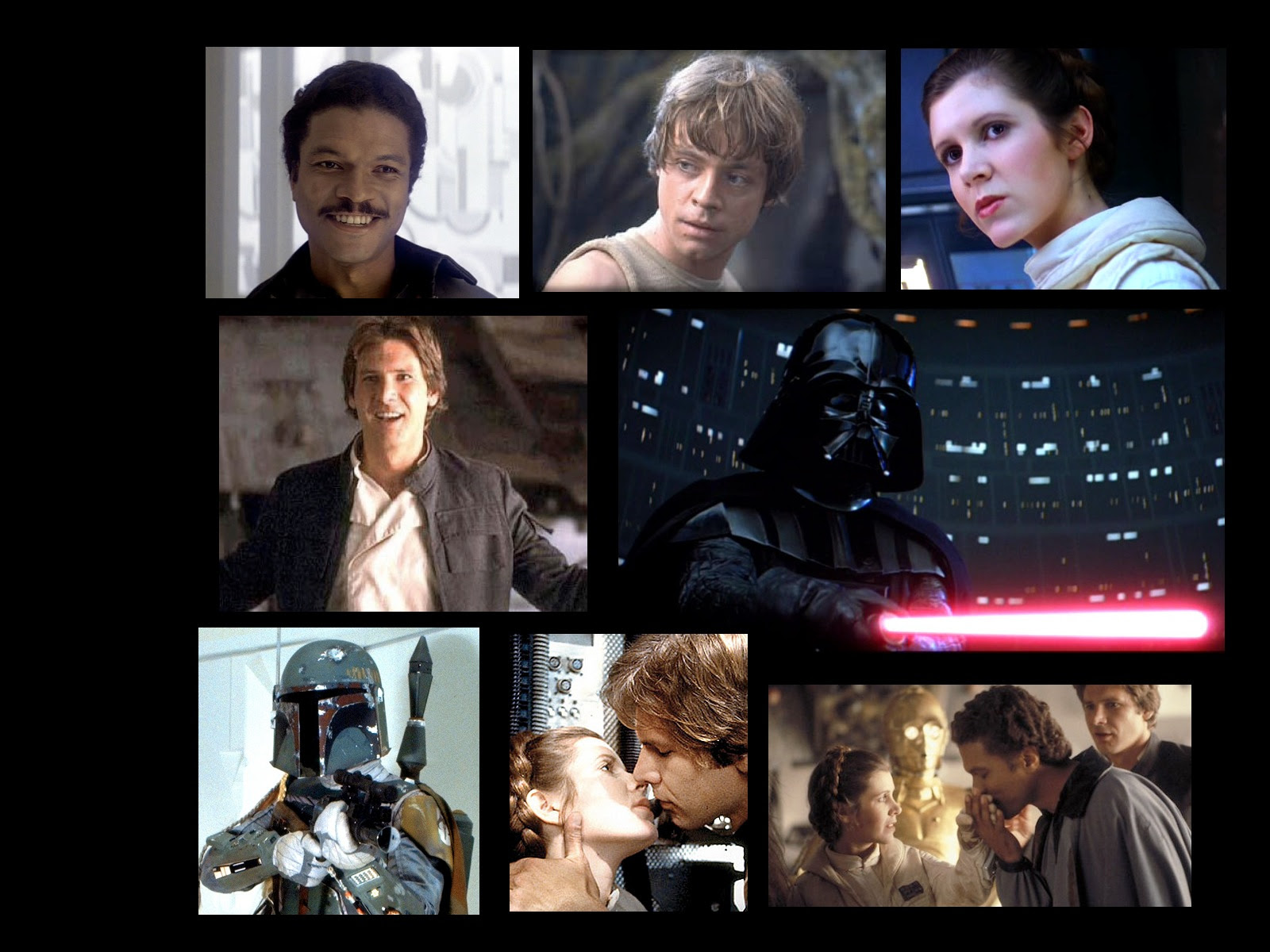Heroes And Villains Star Wars Empire Strikes Back Wallpaper