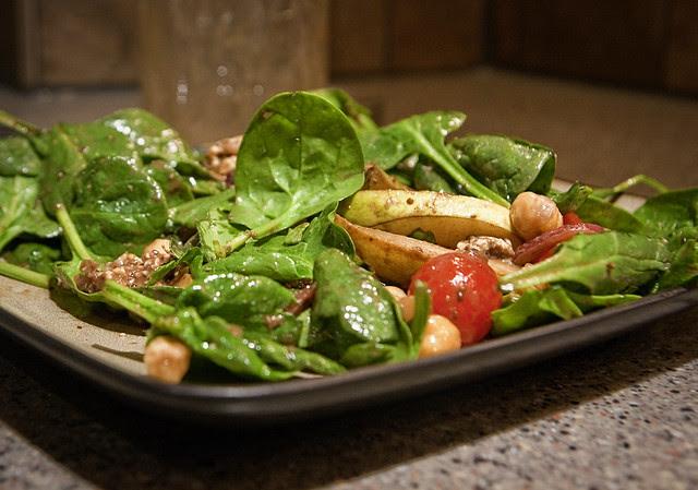 salad on my plate - 1