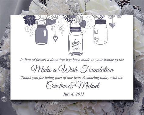 Donations In Lieu of Wedding Favors   Sonal J. Shah Event