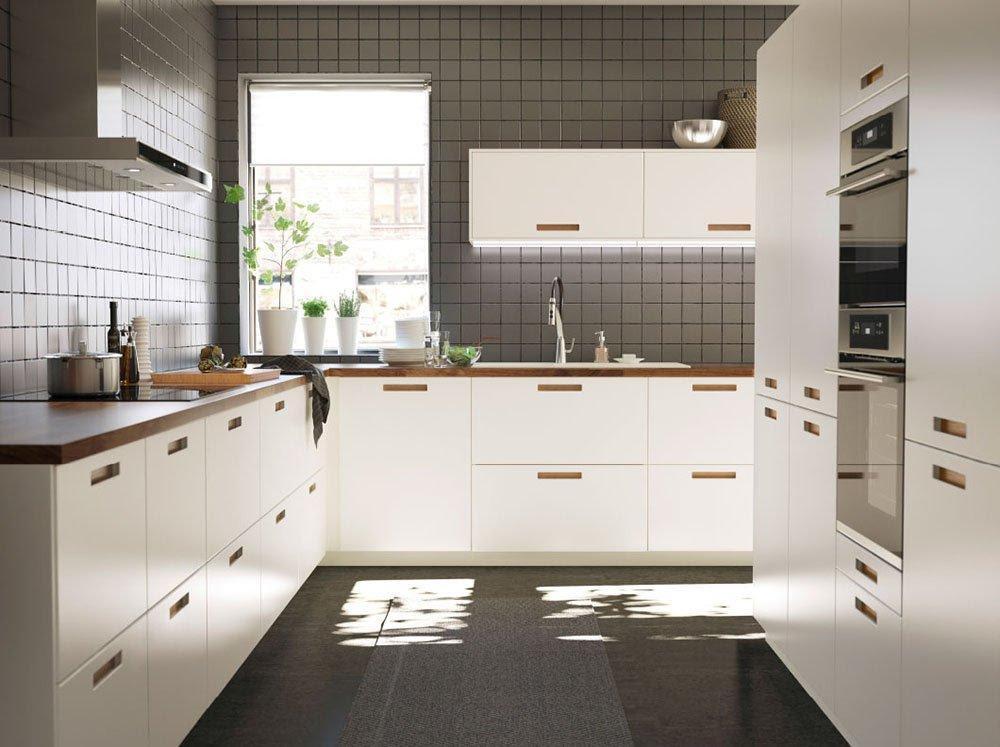 distribucion de la cocina ikea blanca