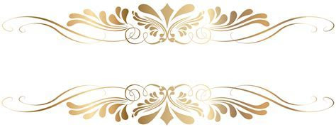 Golden Decorative Element PNG Clip Art   Gallery