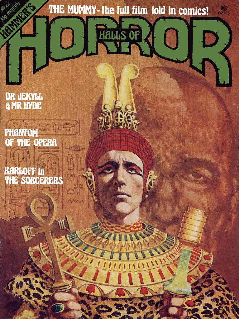 House Of Hammer Magazine (Halls of Horror) - Issue 22 (1981)