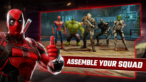 apk mod MARVEL Strike Force