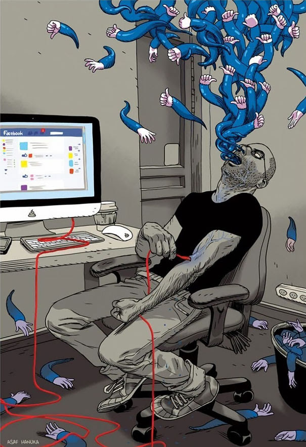 AD-Satirical-Illustrations-Show-Our-Addiction-To-Technology-05