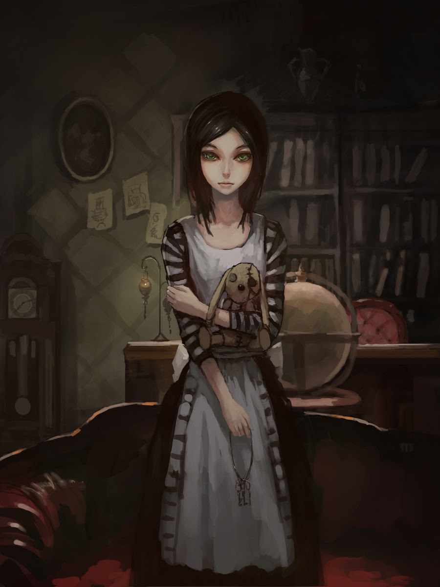 thedeadhatter:  A few nice art pieces of the various dresses from Alice: Madness Returns.