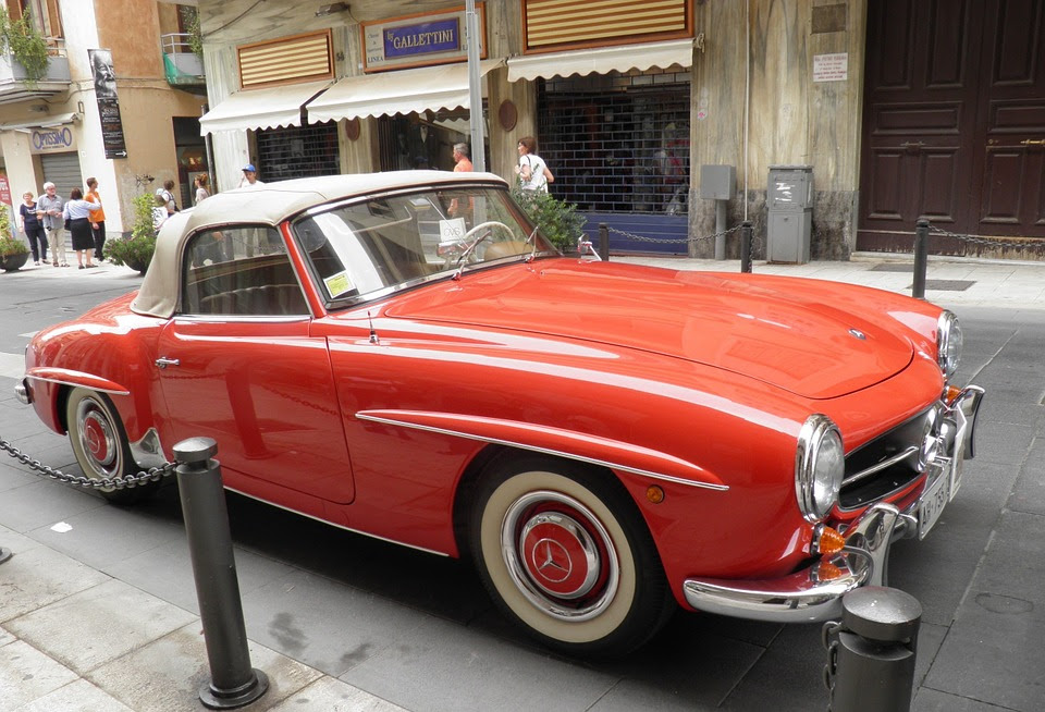 Wax On, Wax Off: Making an Old Mercedes Look New | The ...