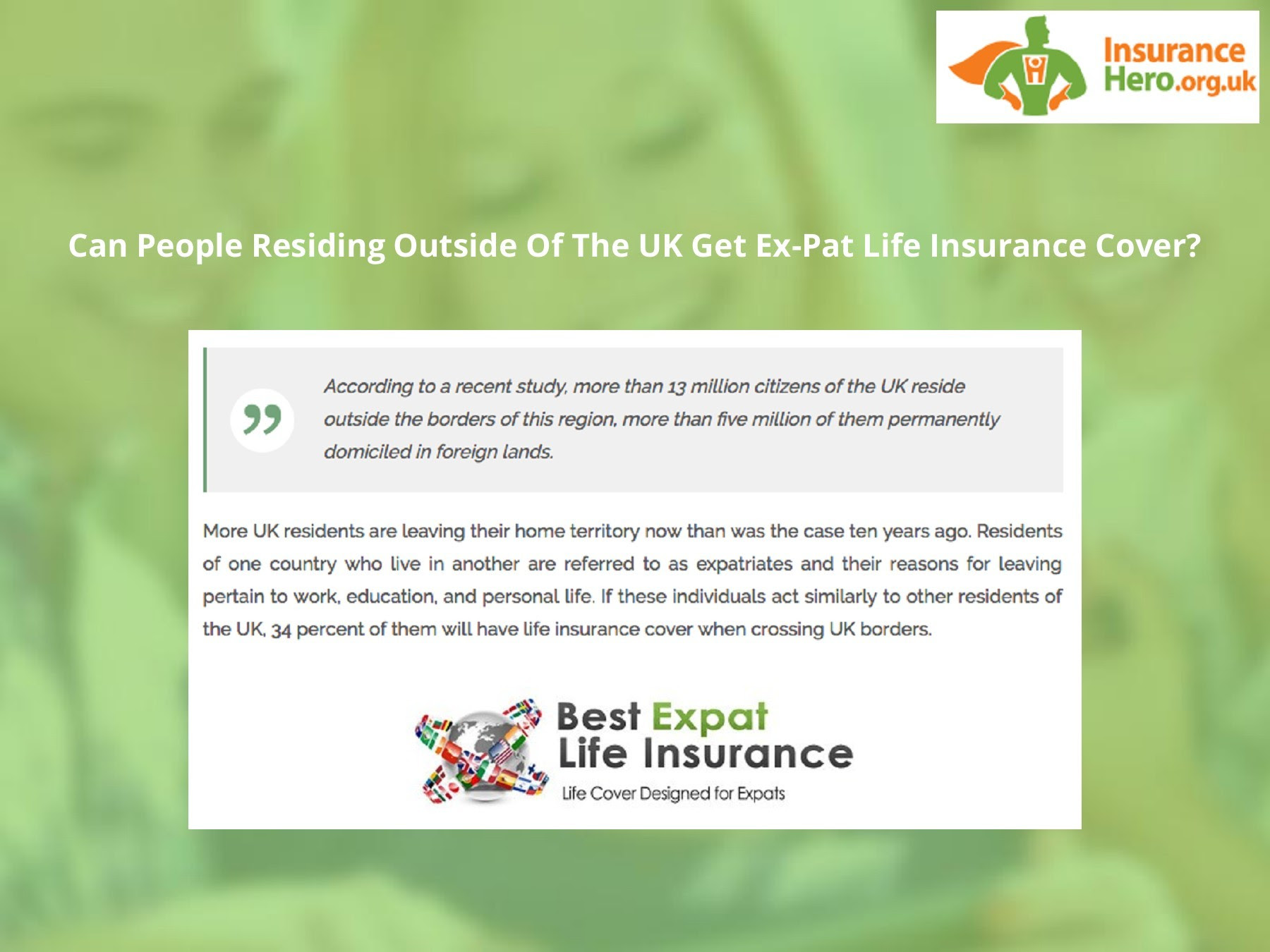 Compare Affordable Life Insurance Quotes Insuranceheroorguk Pages