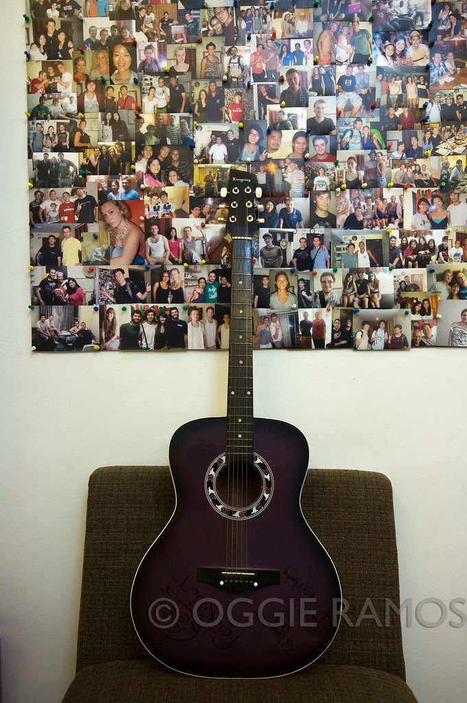 Our Melting Pot - Collage and Guitar