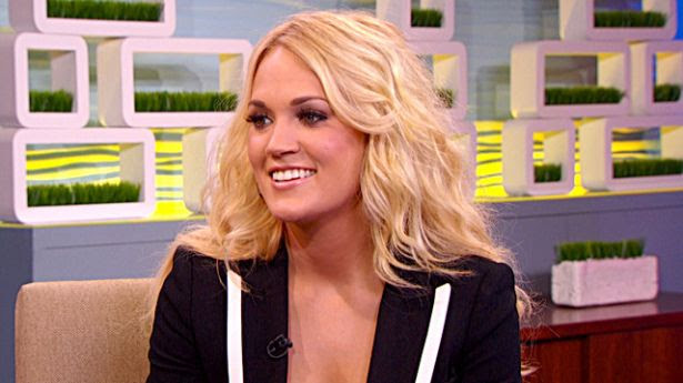 Big Morning Buzz - August 2012, Carrie Underwood