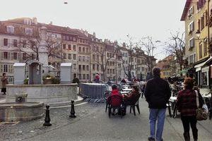 Ovni dans le ciel de Genève