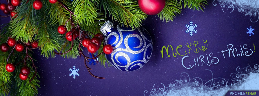 Purple Merry Christmas Facebook Cover Merry Christmas Pic Merry
