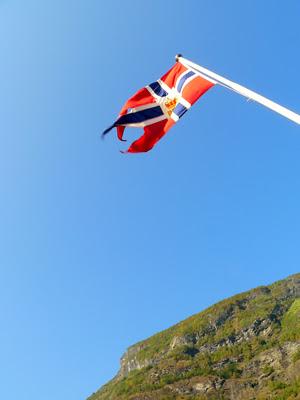 ゾグネフィヨルド(Sognefjord)フェリーからの景色fromノルウェー