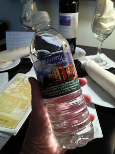 Complimentary Bottled Water in Rooms at the Cranwell Resort, Spa, and Golf Club