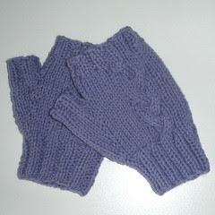 Smaller Braided Mitts