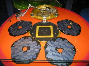 Replica di Beagle 2 presso il Science Museum di Londra. Credit: user:geni (Wikimedia Commons)