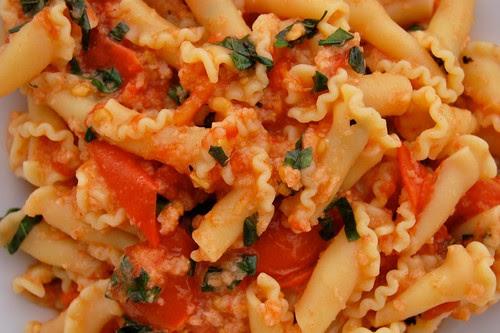 Baked Tomato Pasta Sauce