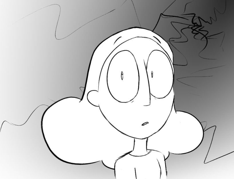 done from memory after one watch- this past stevenbomb really hit me where it hurt
