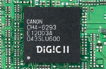 The Canon Digital Rebel XT's Digic Processor