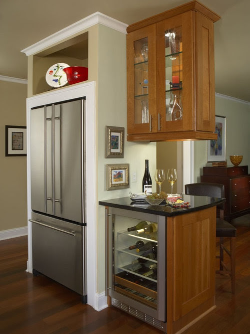 Stand-Alone Refrigerator Home Design Ideas, Pictures ...