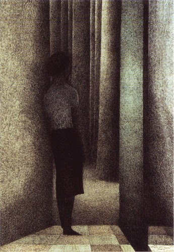 Leon Spilliaert, The Open Door, 1945
