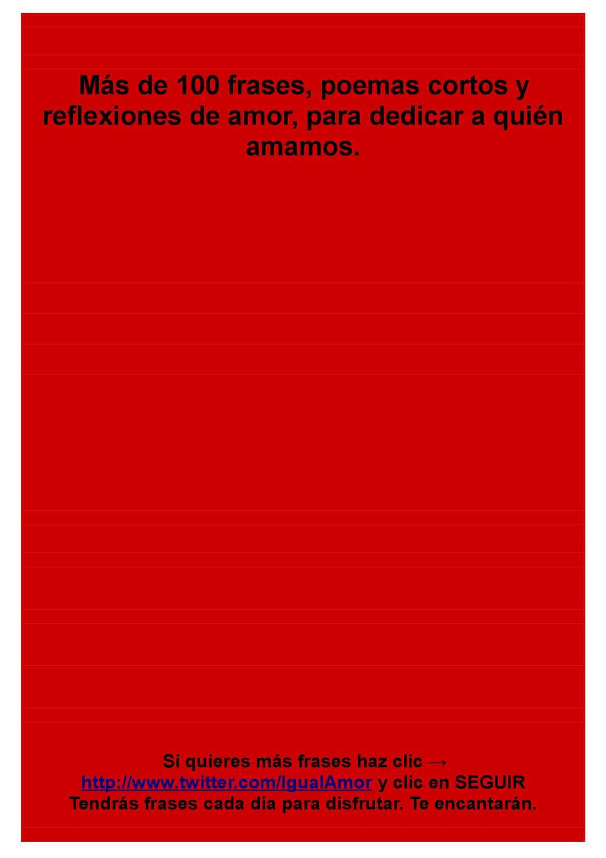 Calameo Frases Y Poemas Cortos De Amor