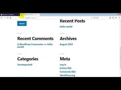 Instalasi WordPress di Server Lokal