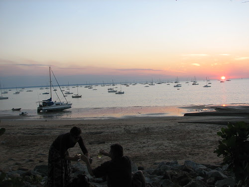 A Dry Sunset, Darwin Sailing Club