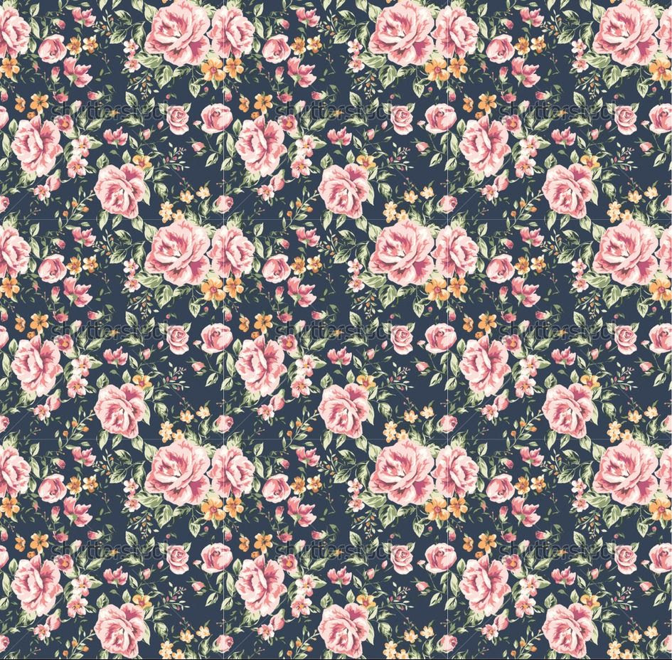 Vintage Flower Wallpaper Tumblr Sf Wallpaper