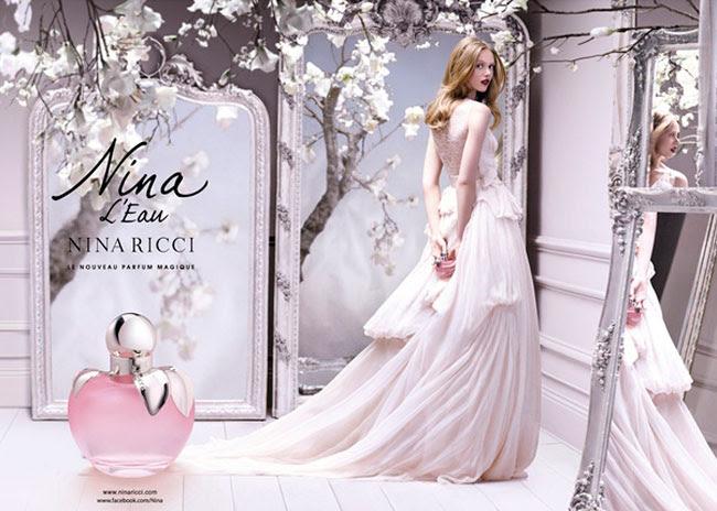 2 frida gustavsson nina ricci nina eau parfum Parfum Nina L'eau de Nina Ricci : Conte dHiver avec Frida Gustavsson