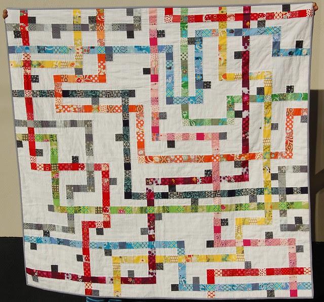 Tokyo Subway Quilt