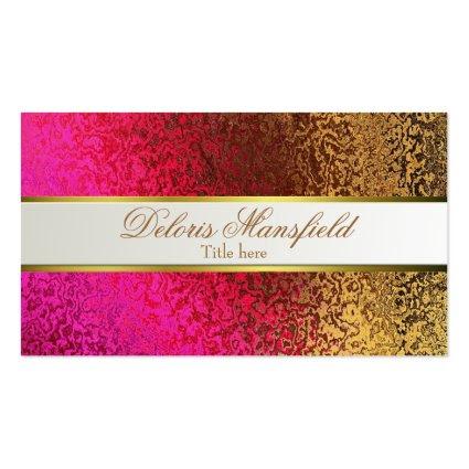 Elegant Foil Look Business Card