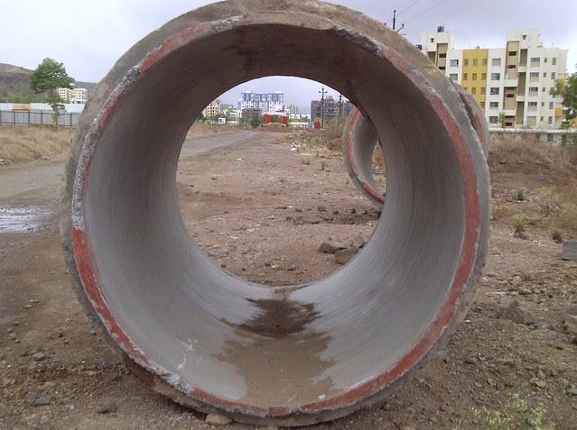 Delayed road works - Visit Amit's Sereno, Reelicon Alpine Ridge, Pride Platinum, Welworth Paradise, Venkateshwara Mirabel & Pride Valencia, near Pancard Clubs, Baner, Pune 411045