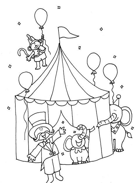 malvorlagen kinder zirkus