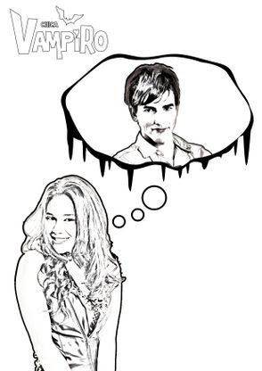 Coloriage Daisy Et Max Coloriage Chica Vampiro Coloriages
