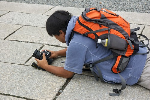 Worshipping Nikon at the Daibutsu