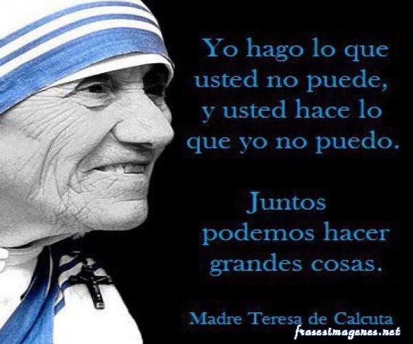 Santa Madre Teresa De Calcuta Ella Estuvo Alli