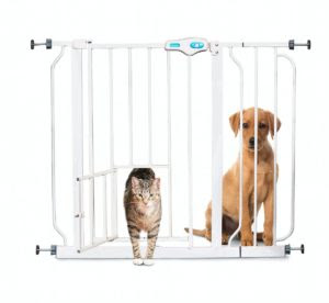 Best Baby Gates With Pet Doors Keeping Babies Safe Pets Happy
