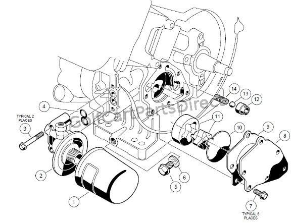 1998-1999 Club Car DS Gas or Electric - Club Car parts ...