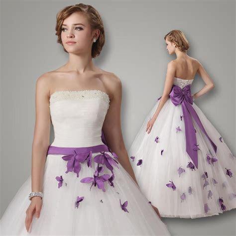 2015 Fashion Elegant Wedding Dresses White Floor Length