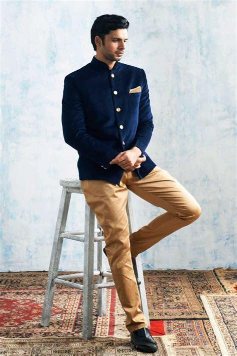 Manyavar Trendy Indo Western   Men's Styles   Engagement