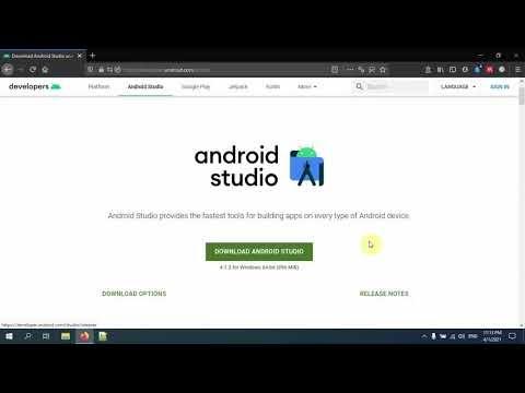 كيفية تسطيب Android Studio