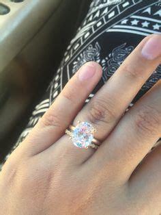 1, 2, and 3 carat diamond rings. I think my tiny finger