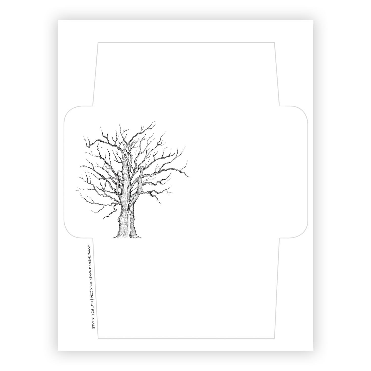 This is a picture of Crazy Printable Envelope Address Template