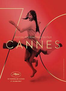 Affiche du 70 eme festival de Cannes 2017 (Claudia Cardinale)